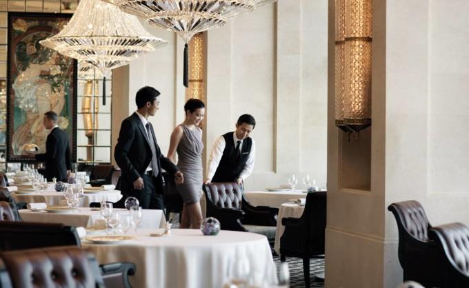 Four Seasons Hotel in Hong Kong